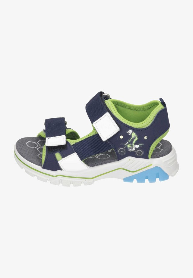 Walking sandals - nautic/acido