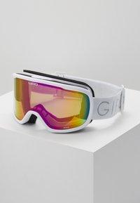 Giro - MOXIE - Skidglasögon - white core light/amber pink - 0