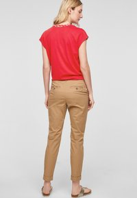 s.Oliver - Blouse - red zic zac stripes - 2
