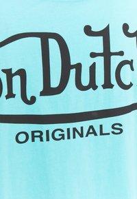 Von Dutch - ARI - Print T-shirt - blue - 8