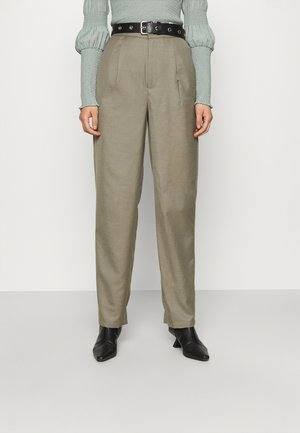 LEEJA PANTS  - Trousers - brindle