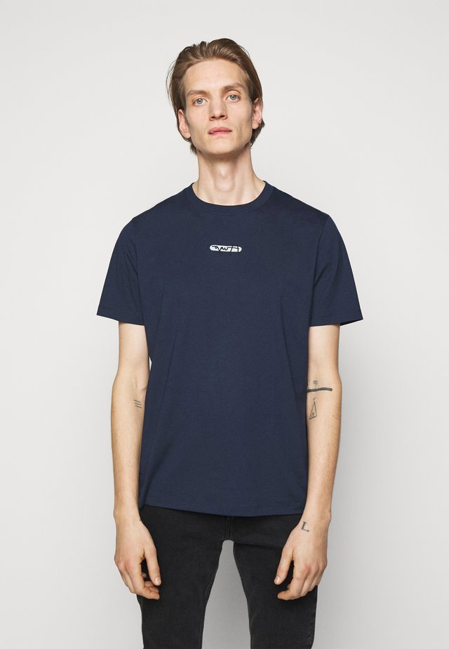 DURNED - T-shirt print - dark blue