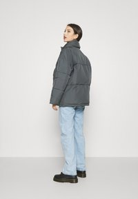 BDG Urban Outfitters - WRAP PUFFER - Winter jacket - charcoal - 2