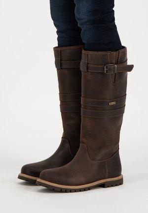 ALERT - Boots - dark brown