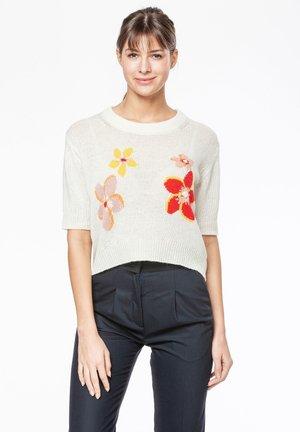 FLORA - Print T-shirt - star white