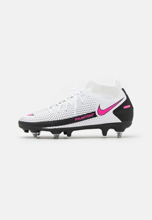 PHANTOM GT ACADEMY DF SGPRO AC - Screw-in stud football boots - white/pink blast/black