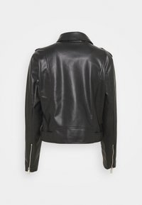 Freequent - FQSANDY - Faux leather jacket - black - 1