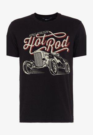 HOT ROD - T-shirt print - schwarz