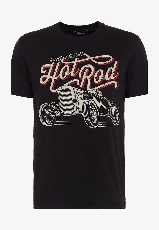 HOT ROD - T-shirt imprimé - schwarz