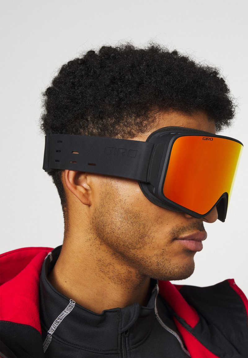 Giro - METHOD - Occhiali da sci - silli black viv infrared