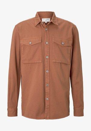 Shirt - goji orange