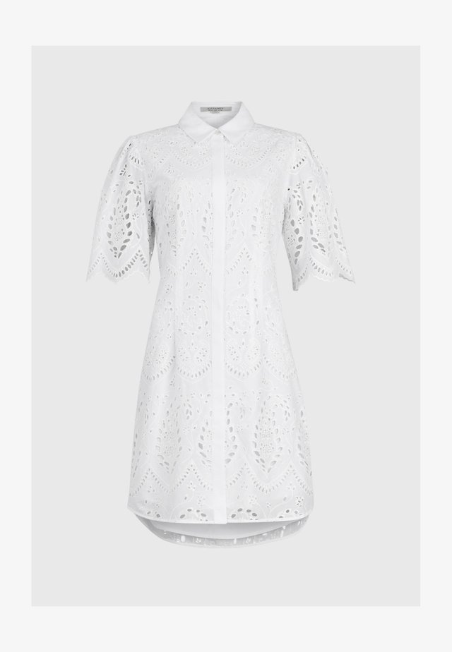 CECEE  - Shirt dress - white