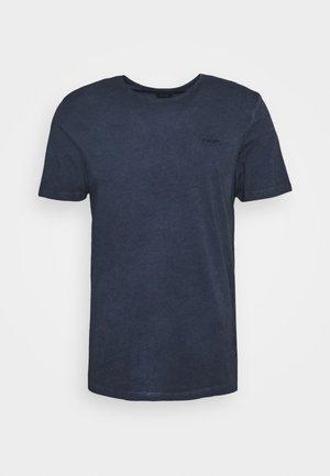 CLAYTON - Basic T-shirt - blue melange