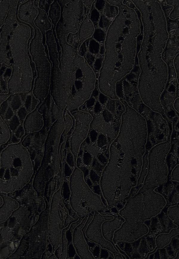 PIECES Tall PCGERTIE - Bluzka - black/czarny PWZY