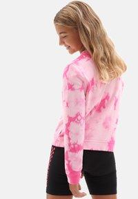 Vans - GR HYPNO CREW GIRLS - Sweatshirt - fuchsia purple - 1