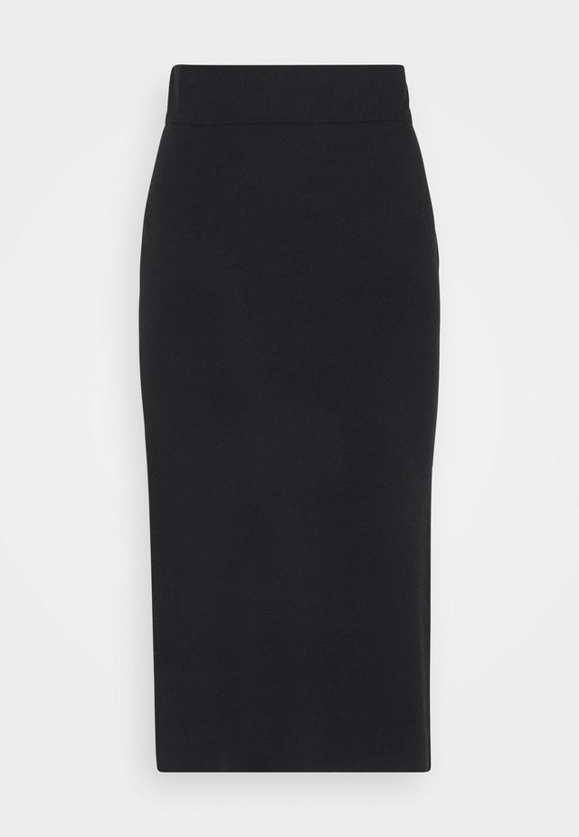 RONKA - Pencil skirt - black