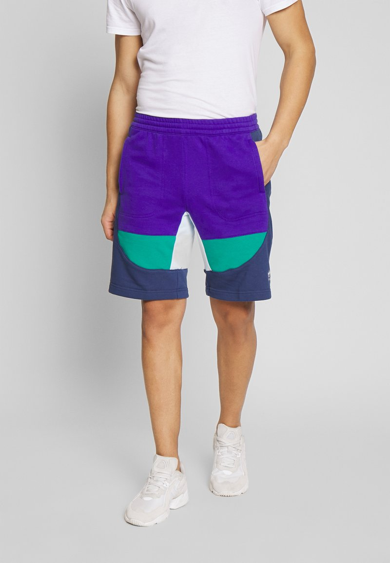 adidas Originals - PROJECT-3 SPORT INSPIRED SHORTS - Shorts - purple