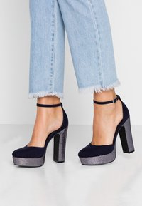 Even&Odd - Zapatos altos - dark blue - 0