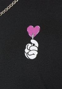 YOURTURN - UNISEX - T-shirt à manches longues - black - 4