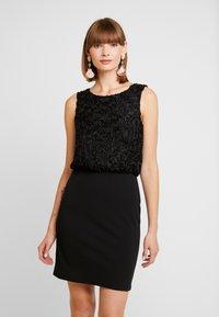 Vero Moda - VMDORIS DRESS  - Kotelomekko - black - 0