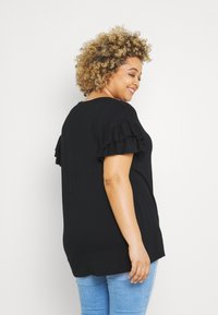 Simply Be - MERCI MON CHERI - Print T-shirt - black - 2