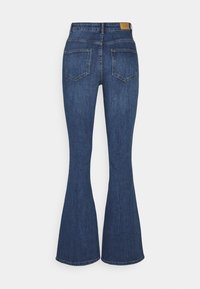 Vero Moda - VMSIGA SLIM - Bootcut jeans - medium blue denim - 1