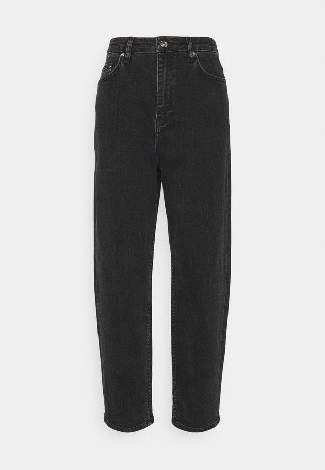 AVELON  - Bootcut jeans - grey stone wash