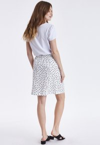 b.young - BYPANDINA  - A-line skirt - off white - 3