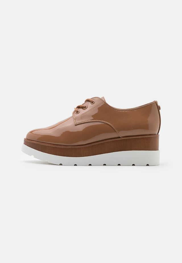 SEVAEDIA - Lace-ups - light brown