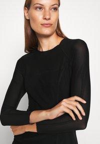 Calvin Klein Jeans - DOUBLE LAYER DRESS - Day dress - black - 7