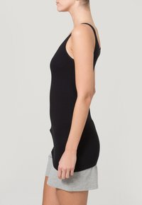 Schiesser - ESSENTIALS 2 PACK - Undershirt - black - 2