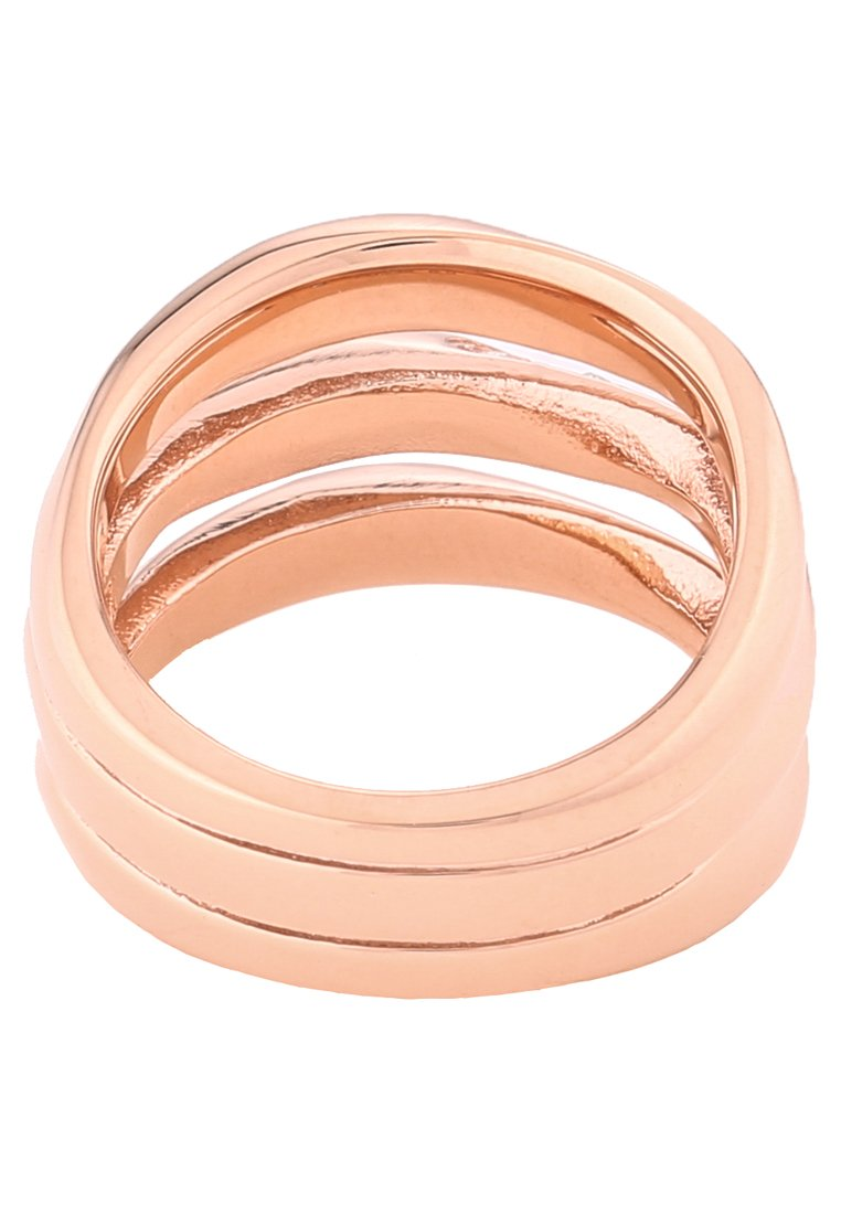 Fossil CLASSICS - Ring - rosegold-coloured/roségull-farget Vw9nGXxrWiwX9A7