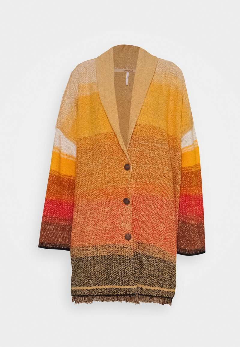 Free People - PARK CARDI - Cardigan - low sun combo