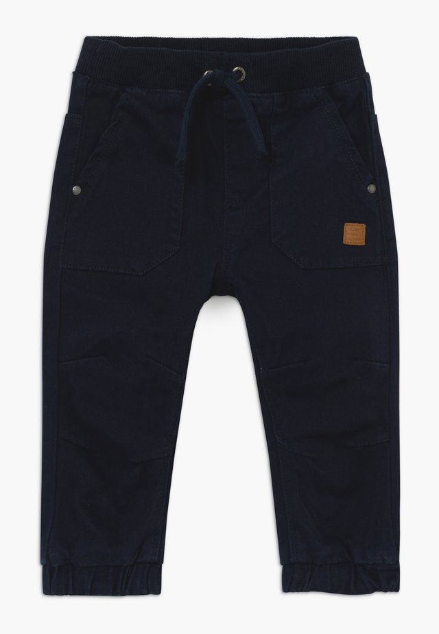 TOBI BABY - Trousers - dark-blue denim