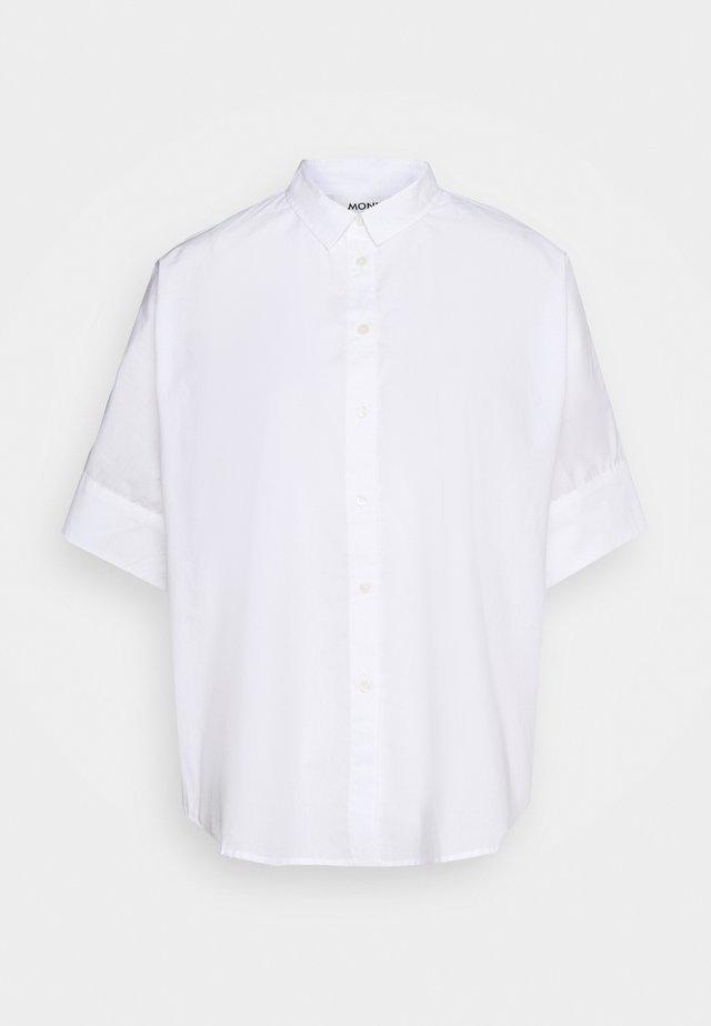LUCA BLOUSE - Košile - white light