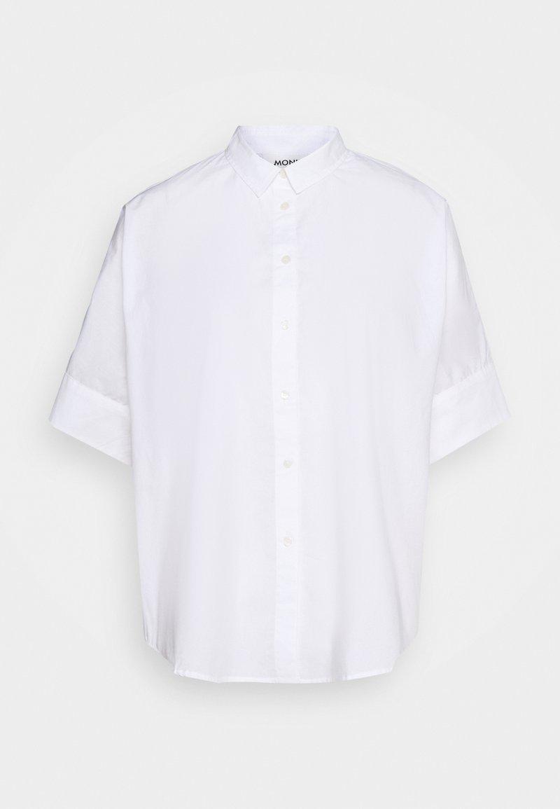 Monki - LUCA BLOUSE - Overhemdblouse - white light