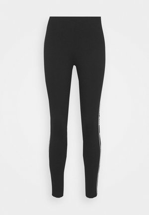 ESSENTIAL TAPE - Leggings - Trousers - black