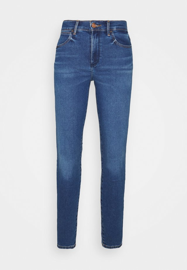 HIGH RISE - Jeans Skinny Fit - camellia