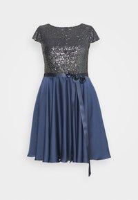 Swing Curve - Sukienka koktajlowa - medium blue - 4