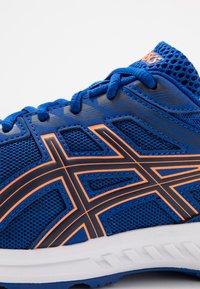 ASICS - GEL-SILEO - Obuwie do biegania treningowe - blue/peacoat - 5