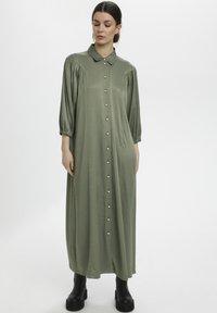 Gestuz - Maxi dress - dark army - 0