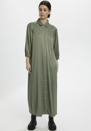 Maxi dress - dark army