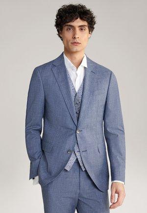 Suit jacket - blau gemustert