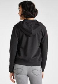 Lee - Zip-up sweatshirt - black - 2