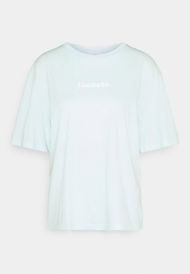 T-shirts med print - mint
