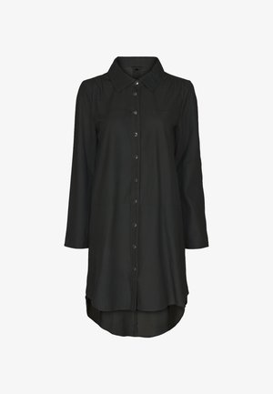 ULRIKE - Button-down blouse - black