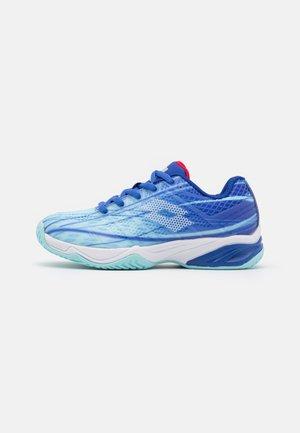MIRAGE 300 JR UNISEX - Tenisové boty na všechny povrchy - clearwater/all white/amparo blue