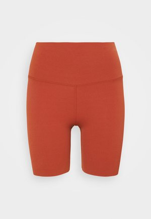 YOGA LUXE SHORT - Legginsy - rugged orange/light sienna