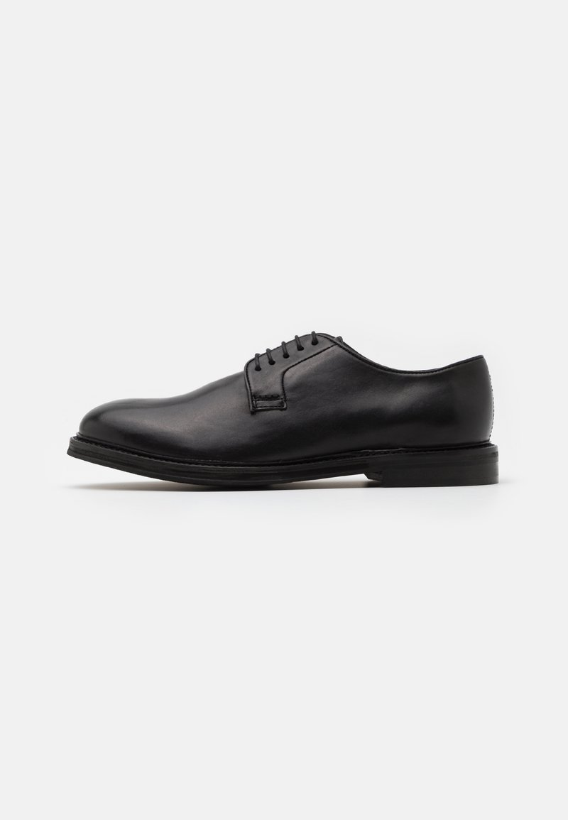 Walk London - JACOB DERBY - Smart lace-ups - swiss black