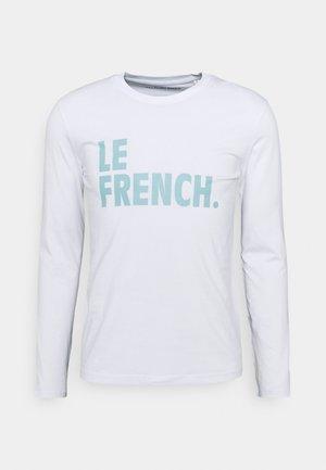 LONGSLEEVE LE FRENCH UNISEX - Long sleeved top - white